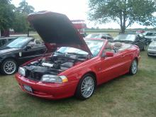 My 1999 C70 at the Volvos at the Gilmore Meet 2008