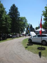 32nd Annual Canadian Volvo Club Family Day Showfield