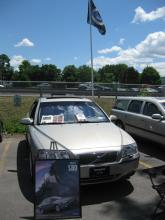 Dad's Volvo S80 cleaned up and on display at the 2012 Ithaca show