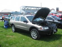 Volvo XC70 with a lift kit... Very Cool!