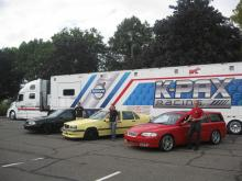 VCNA Open House Volvo R Line-up w/ K-Pax truck