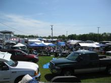 An overview of the swap meet... I love this stuff!