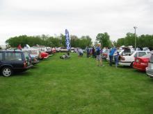 2013 Carlisle Import and Kit Car Show Volvo Feild
