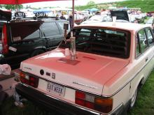 """The Volvo 240 """"Brickerator"""", Though I don't drink, I have to respect the effort..."""