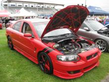 Volvo S60 R, A lot of costom painting on this sweet ride!