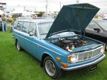 Volvo 145 Wagon, a perfect example of a great classic car!