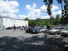 Ithaca show and shine show field