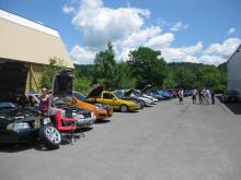 Ithaca 2012 Volvo Meet Back Lot