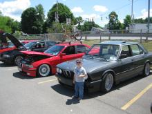 Grant proudly welcomes the BMW group to the Ithaca 2012 so and shine